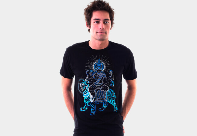 The Tiger Rider T-Shirt - Design By Humans