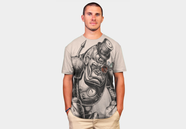Mechanical Primate T-Shirt - Design By Humans