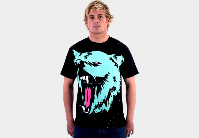 big wolf! T-Shirt - Design By Humans