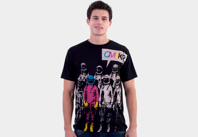 CMYK? T-Shirt - Design By Humans
