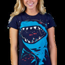supergeek6 wearing Shark with pixelated teeth! by gloopz