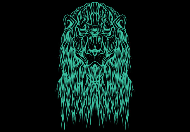 Mystic Lion  Artwork