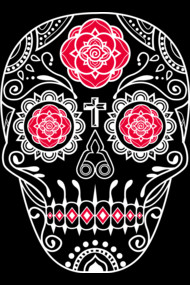 Day of the Dead Deco Skull 5