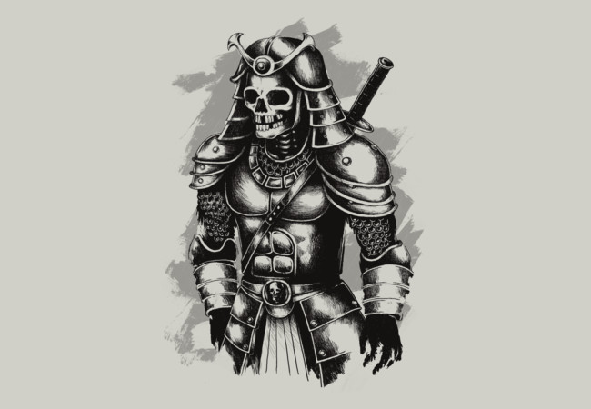 The samurai warrior  Artwork