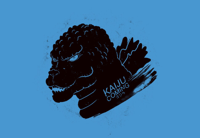 Kaiju is coming  Artwork