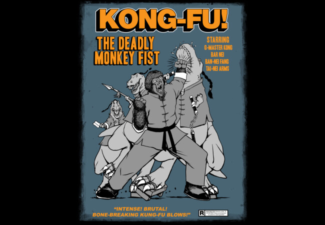 KONG-FU!  Artwork