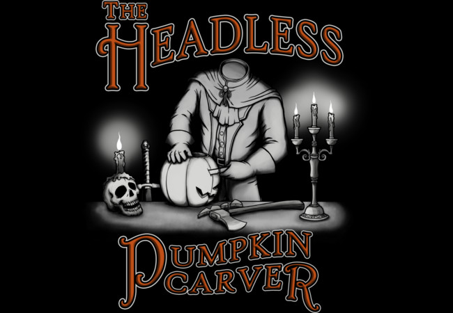 Headless Pumpkin Carver  Artwork