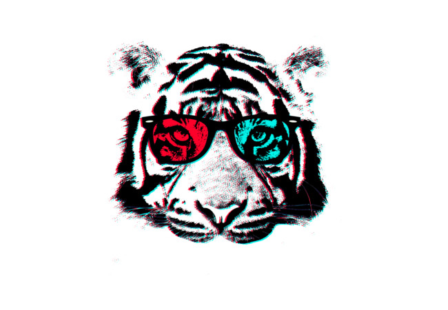 TigerTigerTiger3D  Artwork
