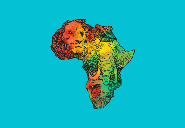 Africa II  Artwork