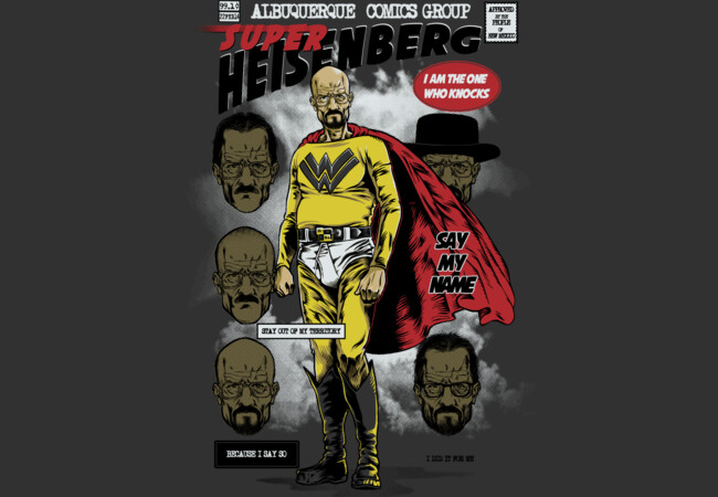 Super Heisenberg  Artwork