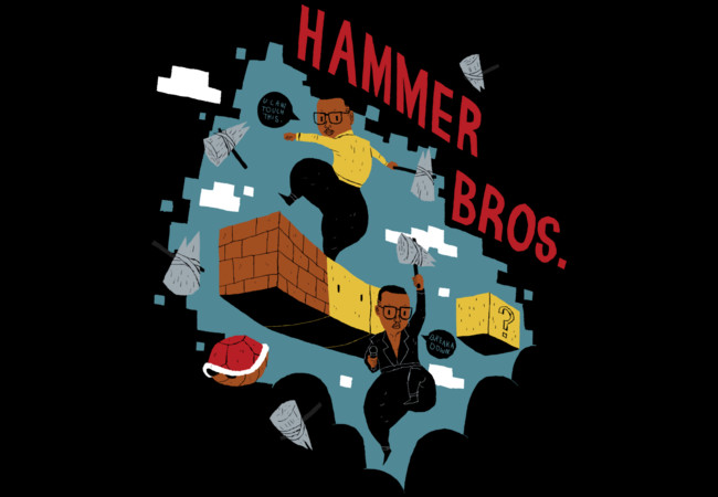 hammer bros  Artwork