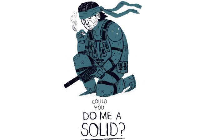 do me a solid.  Artwork