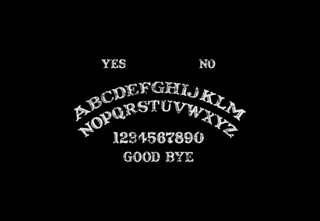 OuiJa Original  Artwork