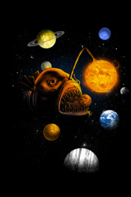 Cosmic Angler Fish