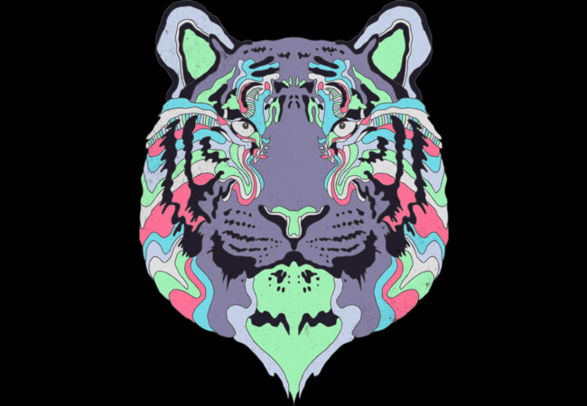 Technicolor Tiger  Artwork