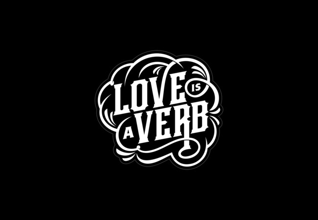 Love = Verb  Artwork