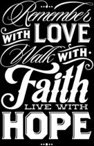 Love, Faith, Hope