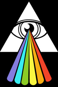All-Seeing Dark Side of the Moon