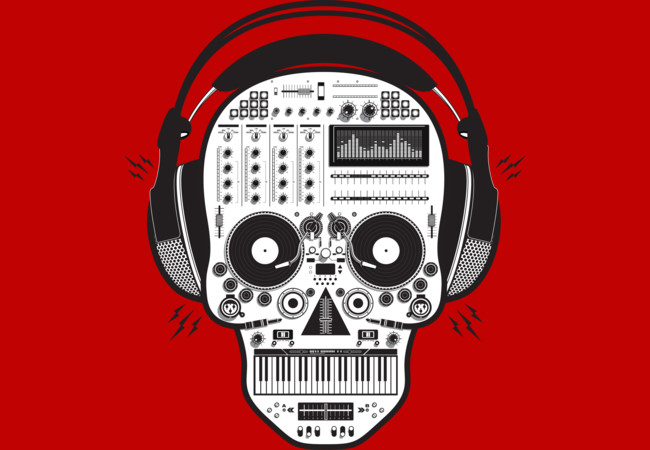 Skull DJ  Artwork