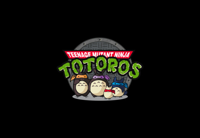 Teenage Mutant Ninja Totoros  Artwork