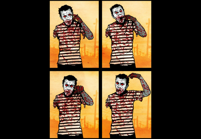 All Fear The Zombie Mime!  Artwork