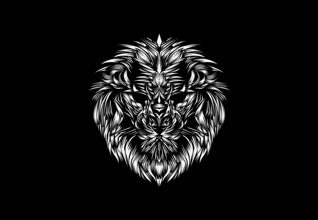 Lion Head 1  Artwork
