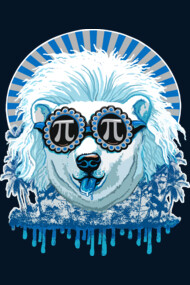Pi Polar Bear Loves Pi Day