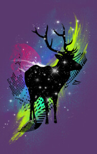 Spaced Out Deer