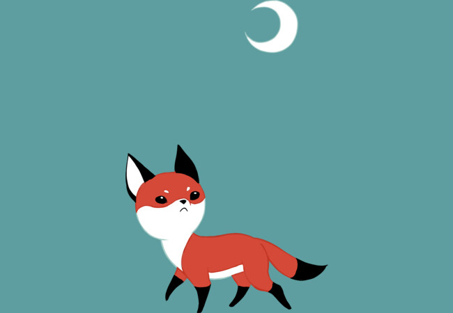 Moon Fox  Artwork