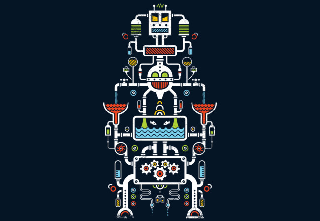 Mechanical Totem  Artwork