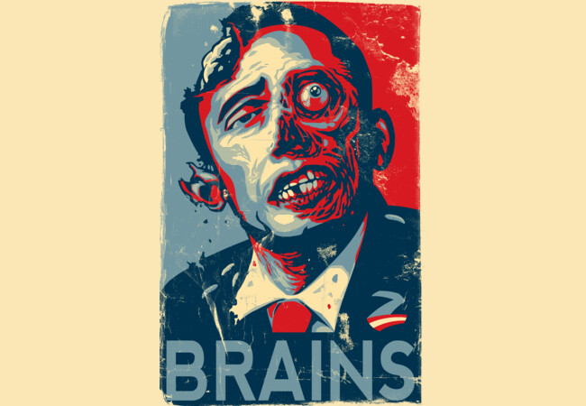 ZOMBAMA: BRAINS  Artwork