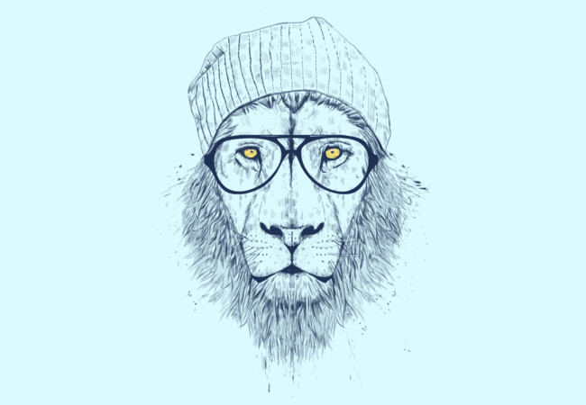 Cool lion  Artwork