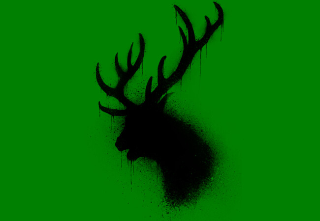 Dark deer  Artwork