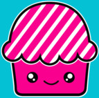 Kawaii cupcake (fairy cake) muffin