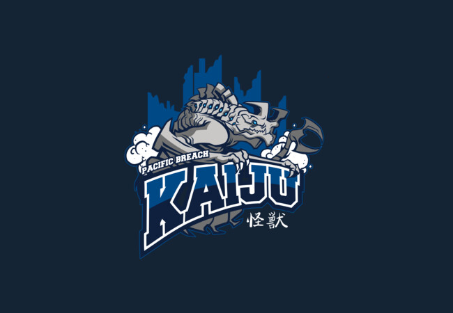 Pacific Breach Kaiju  Artwork