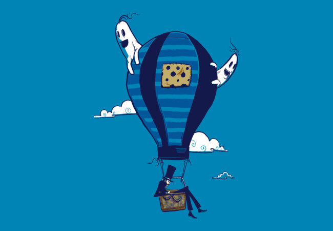 A Hot Air Balloon Ride  Artwork