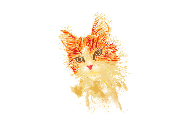Purrtrait  Artwork