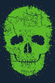 Acid Skull - Toxic Green