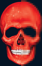 Red Skull Pixelete