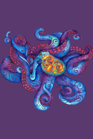 Swirly Octopus
