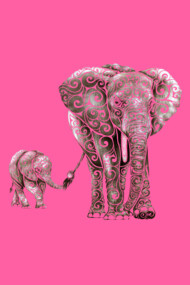 Swirly Elephants