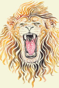 Swirly Lion