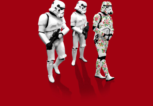 Stormtrooper Trendy Camo Suit  Artwork