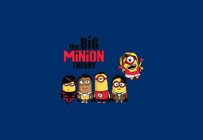 The Big Minion Theory  Artwork