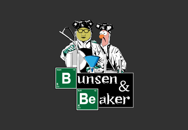 Bunsen & Beaker  Artwork