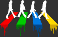 Abbey road in colours