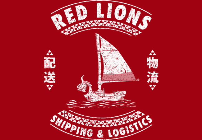 Red Lions Shipping & Logistics  Artwork