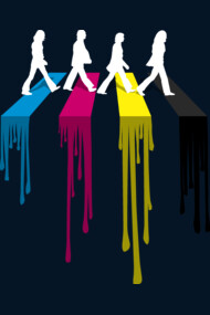 CMYK Abbey road