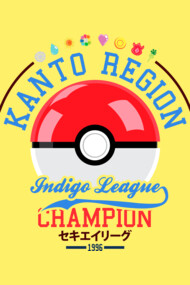 Kanto region Indigo league champion