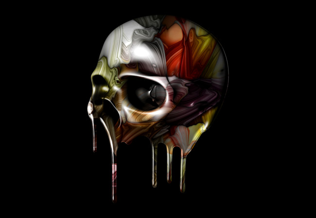 Syrupy Skull  Artwork